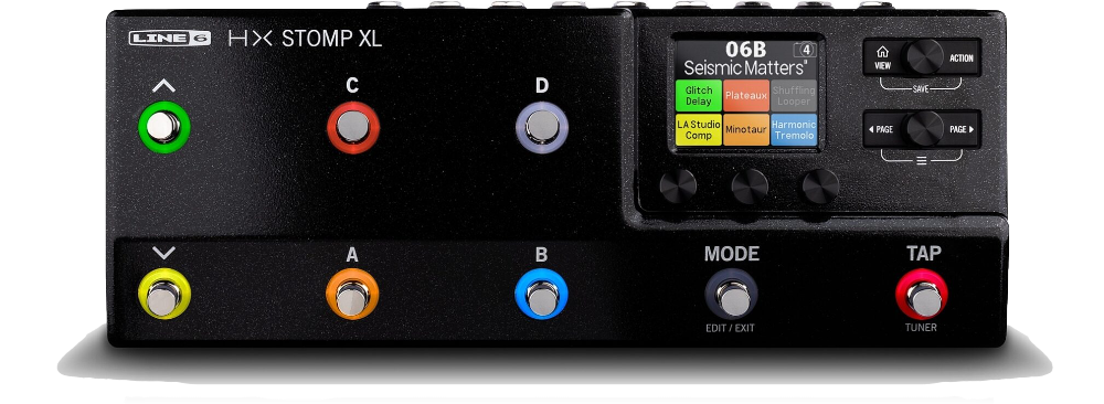 Line 6 Releases HX Stomp XL