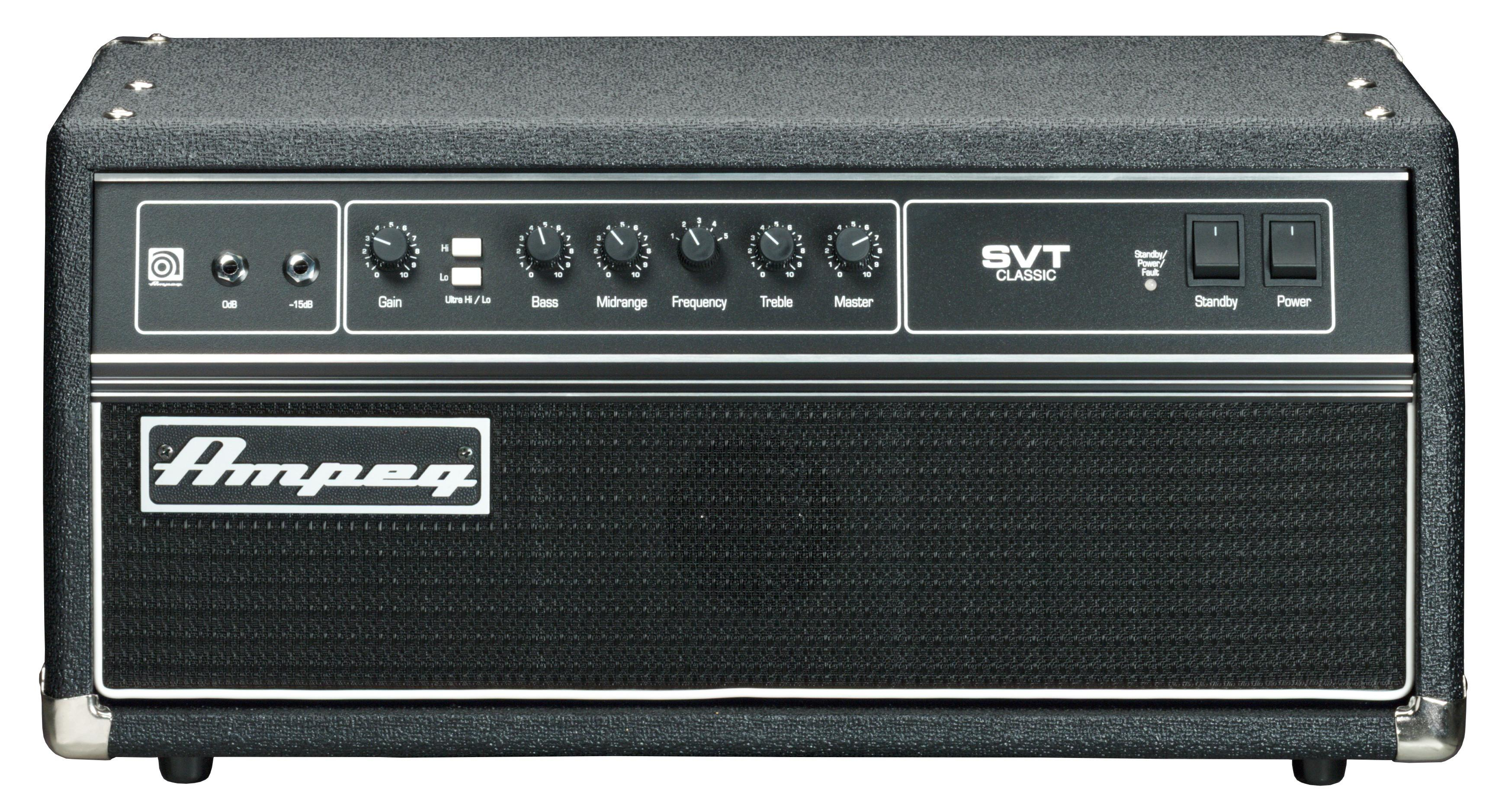 SV Beast Nrm, the Helix model of a Ampeg® SVT® (normal channel)