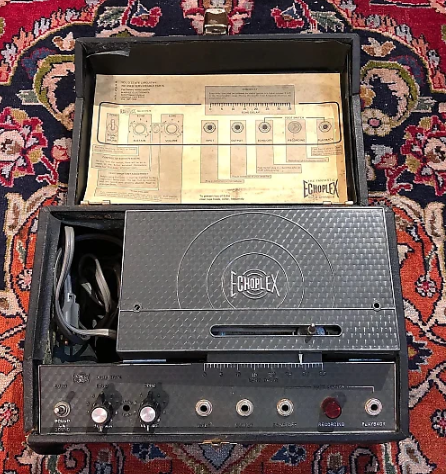 Transistor Tape, the Helix model of a Maestro® Echoplex EP-3