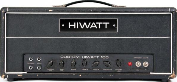 WhoWatt 100 (Hiwatt® DR-103 Brill)