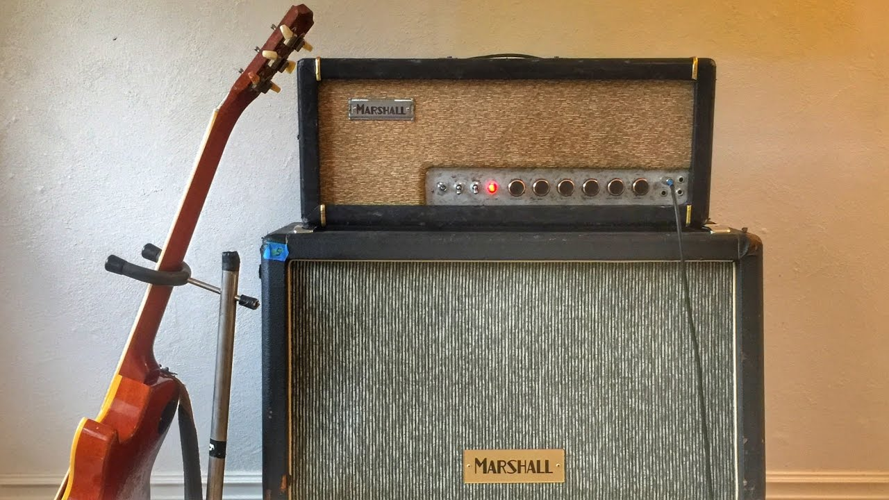 Brit J45 Nrm, the Helix model of a Marshall® JTM-45 (normal channel)