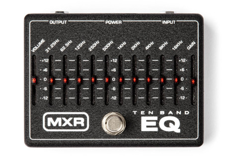 10 Band Graphic, the Helix model of a MXR® 10-Band Graphic EQ