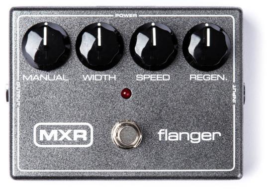 Gray Flanger, the Helix model of a MXR® 117 Flanger