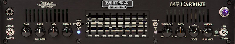 Cali Bass, the Helix model of a MESA Boogie® M9 Carbine