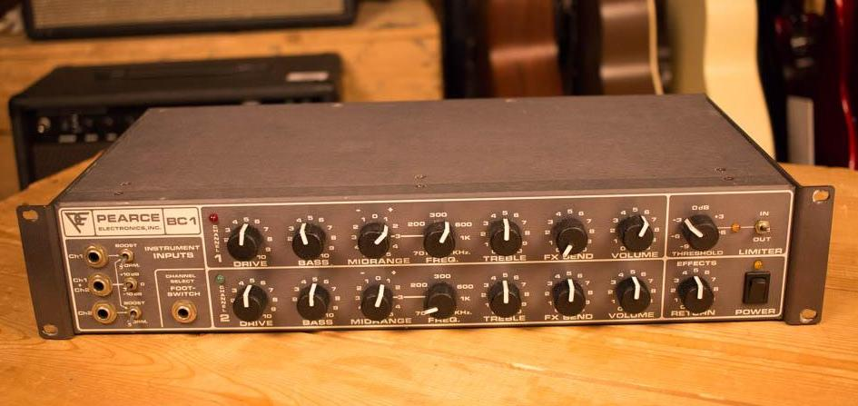 Busy One Ch1 (Pearce BC-1 preamp (channel 1))