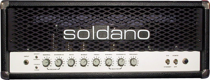 Solo Lead OD, the Helix model of a Soldano SLO-100 (overdrive channel)