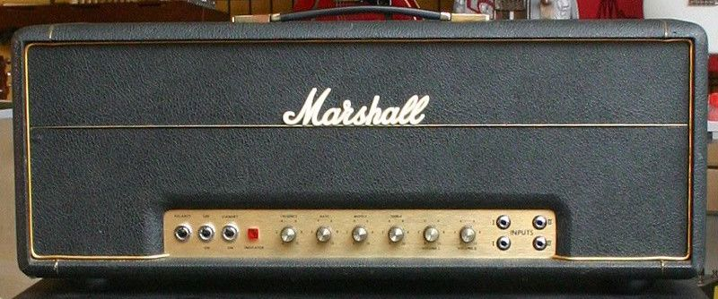 Brit Plexi Brt, the Helix model of a Marshall® Super Lead 100 (bright channel)
