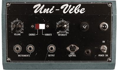Ubiquitous Vibe, the Helix model of a Shin-ei Uni-Vibe®